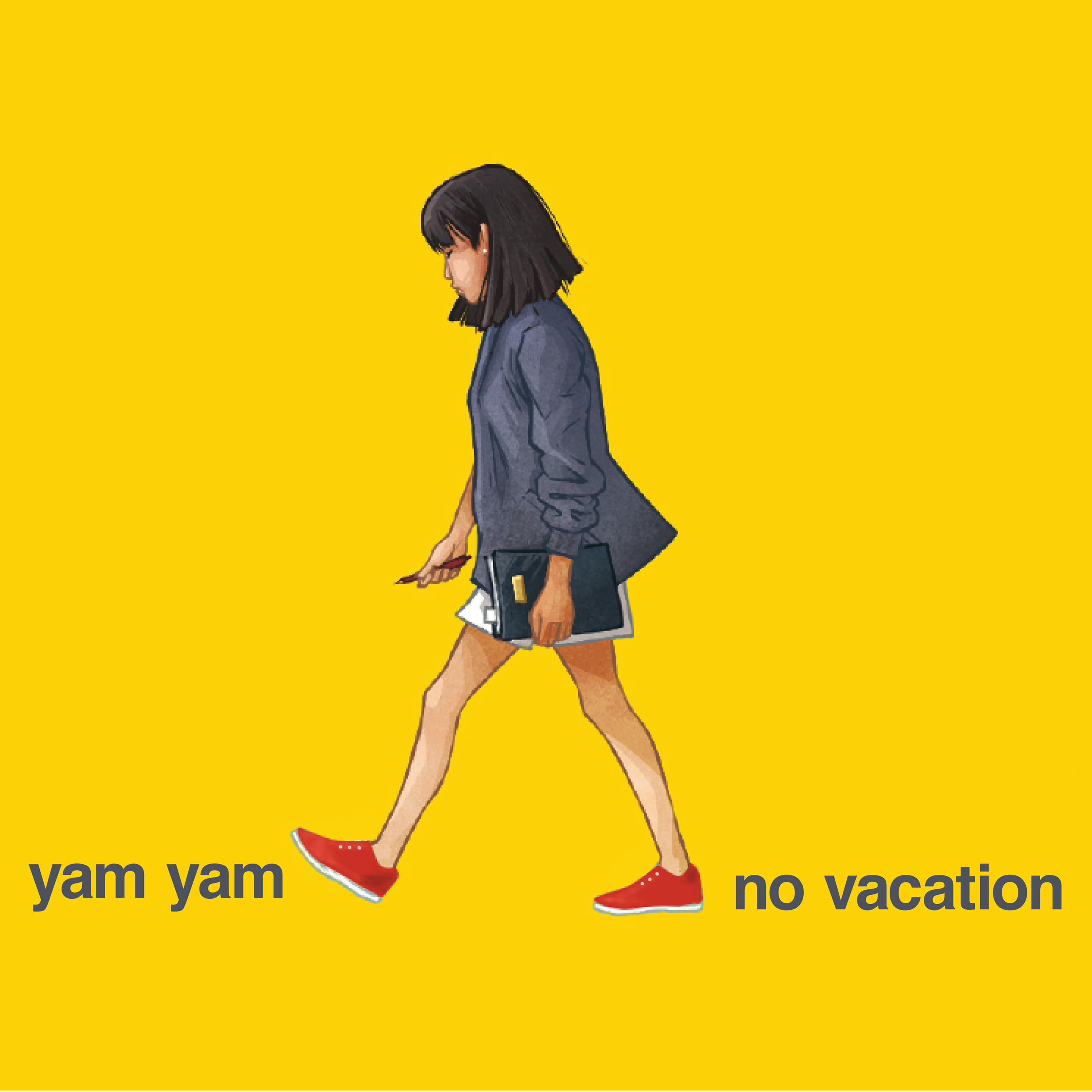 Topshelf Records No Vacation Yam Yam
