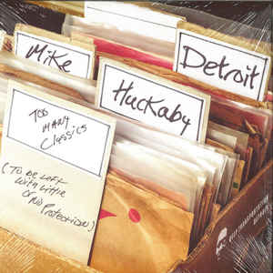 Mike Huckaby: Too Many Classics 2 x 12 inch (Deep Transportation)