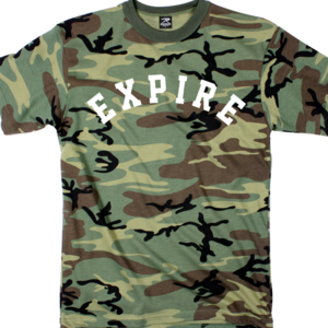 Expire 'Pretty Low' Camo T-Shirt