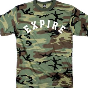 Expire 'Pretty Low' Camo T-Shirt