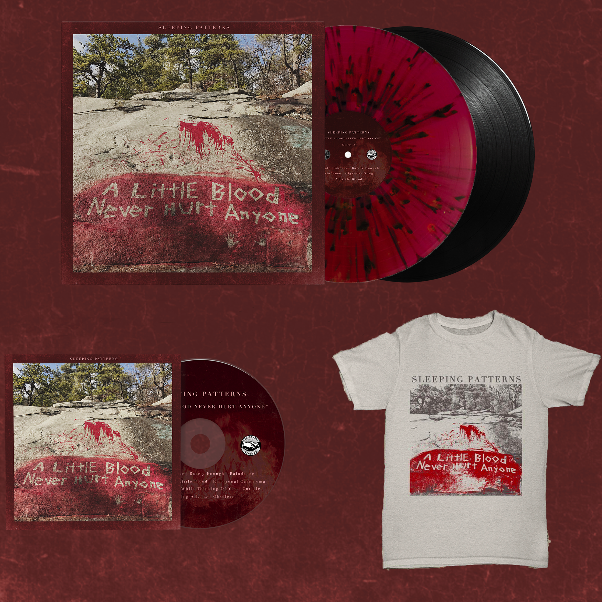 Counter Intuitive Records Sleeping Patterns A Little Blood Never