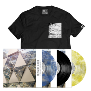 Mossbreaker BTNAY LP + T-shirt (Black) Bundle