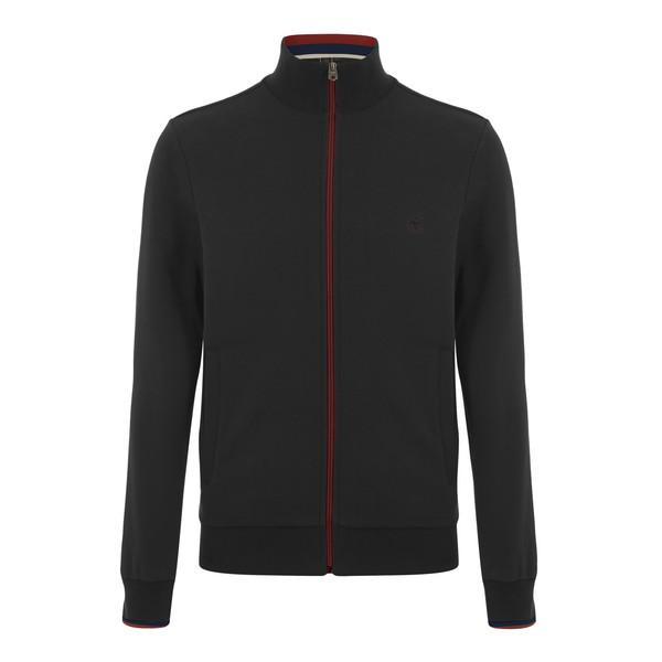 MERC Truman Tracktop Sweatshirt-Marl Charcoal