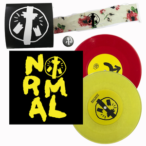 The Homeless Gospel Choir - JOIN THE NORMALS 7-inch / armband bundle