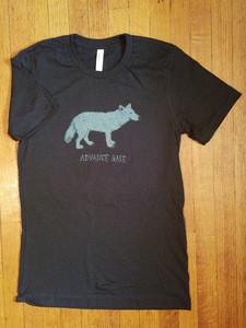 ADVANCE BASE- Wolf Shirt (black)