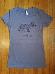 ADVANCE BASE- Wolf Shirt (purple)