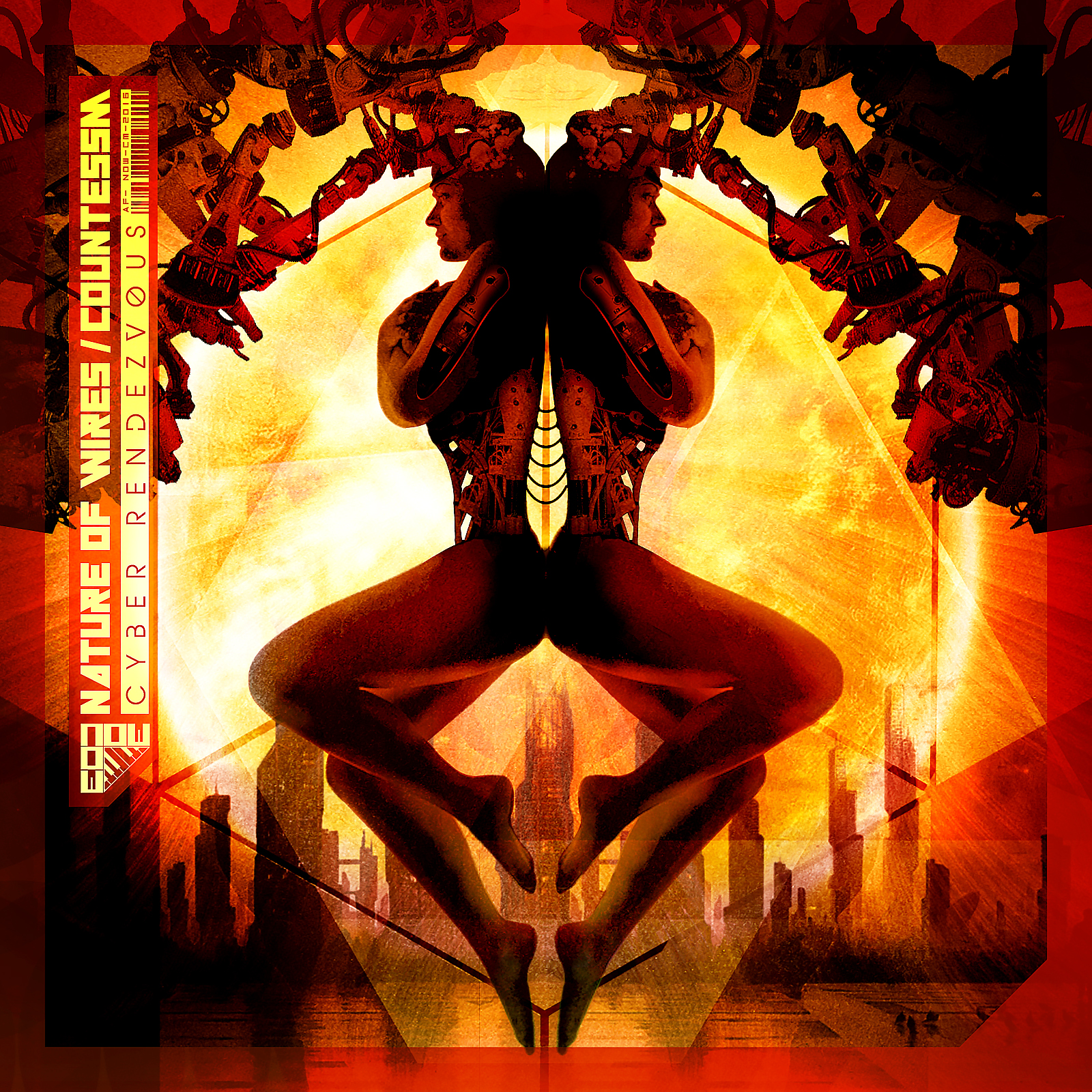Nature of Wires / CountessM - Cyber Rendezvous (+ bonus digital remixes)