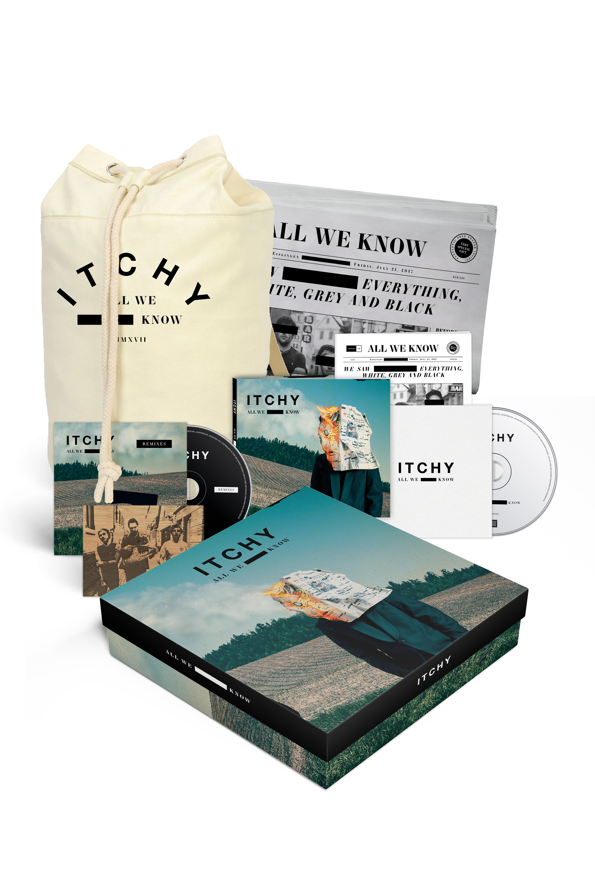 All We Know (Ltd. CD Deluxe Box)