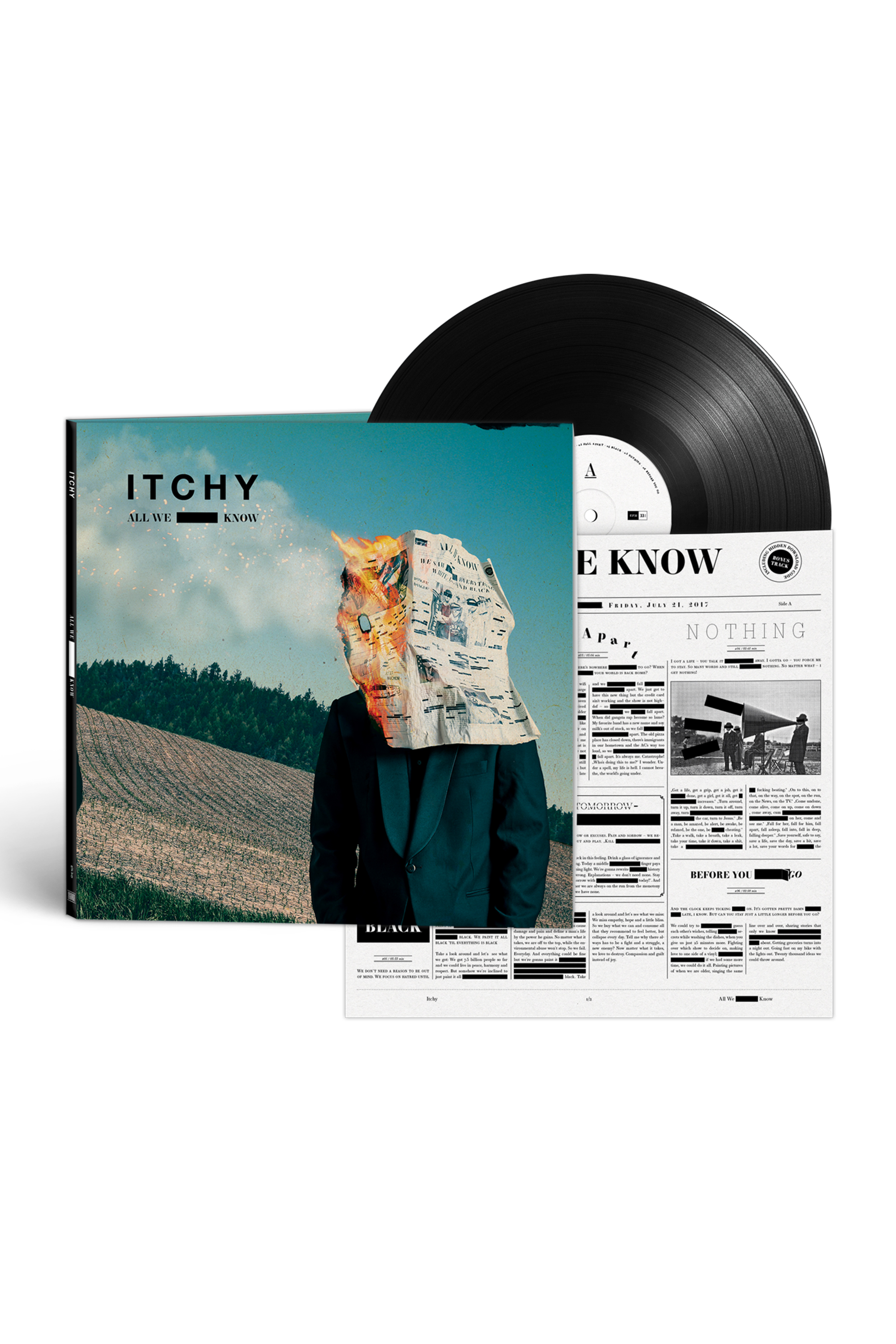 All We Know (Ltd. Vinyl LP Deluxe Box)