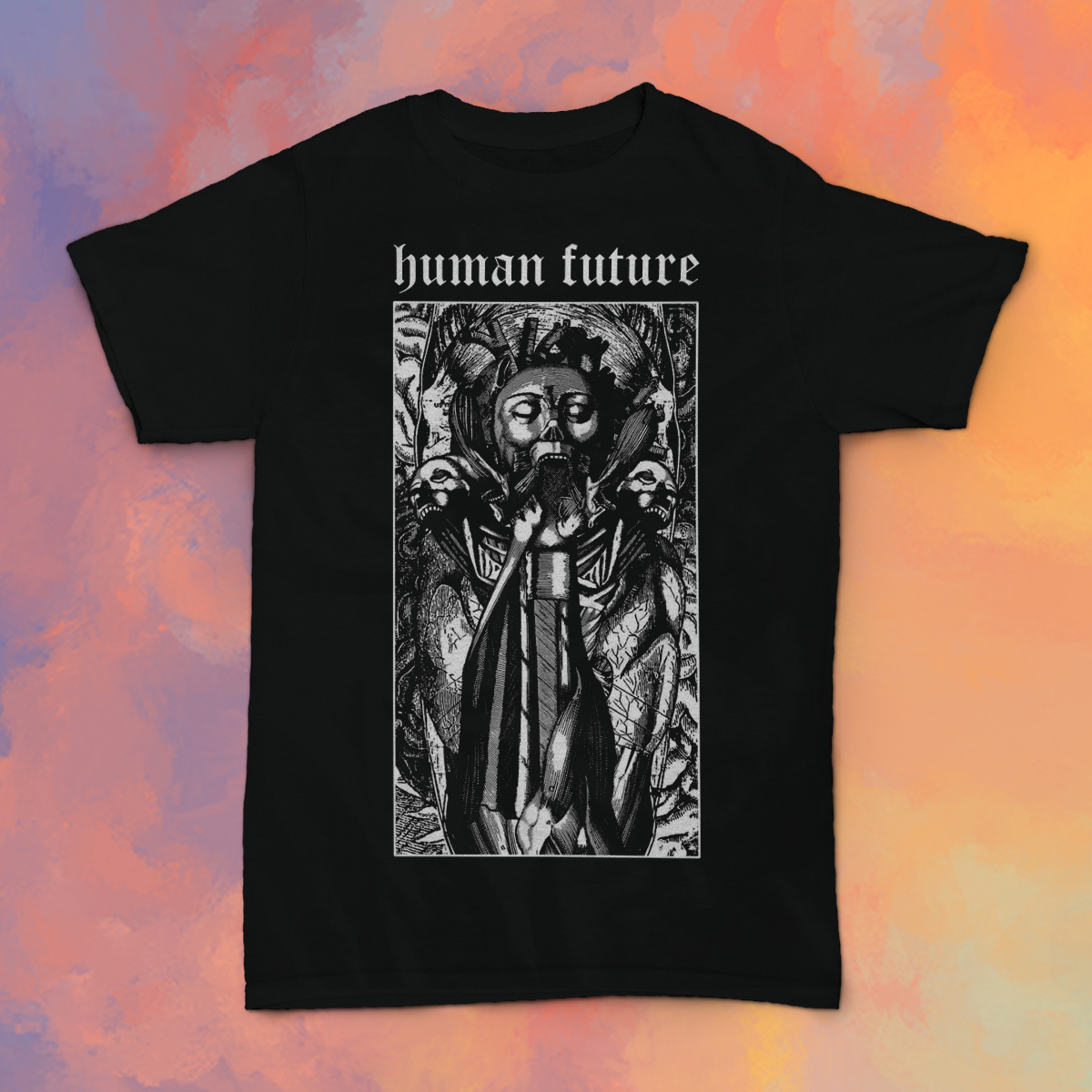 Human Future - Metal Daze shirt *PREORDER*