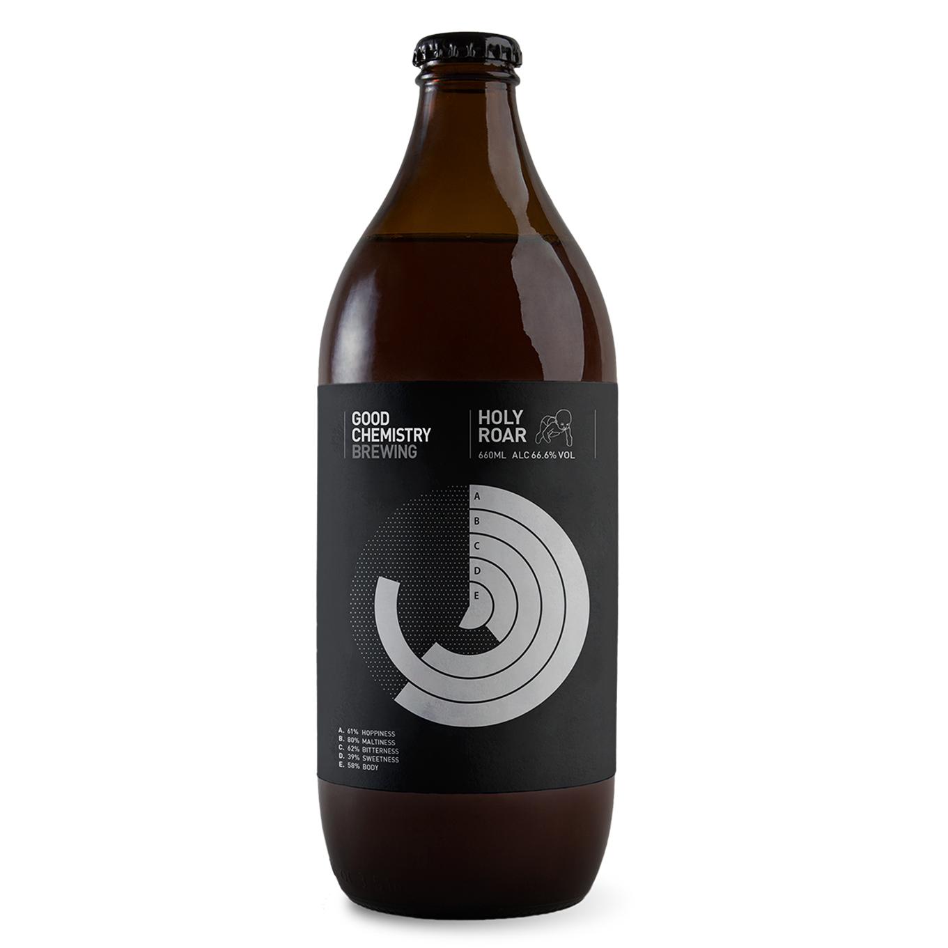 'Holy Roar' Good Chemistry beer 6.66% (ABV)