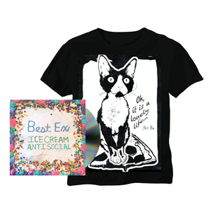 Best Ex - Ice Cream Anti-Social CD and Mildred Pizza Sufing Tee - PREORDER