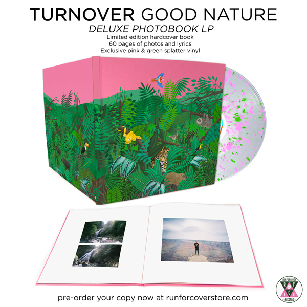 Turnover - Good Nature Deluxe Edition Photobook LP