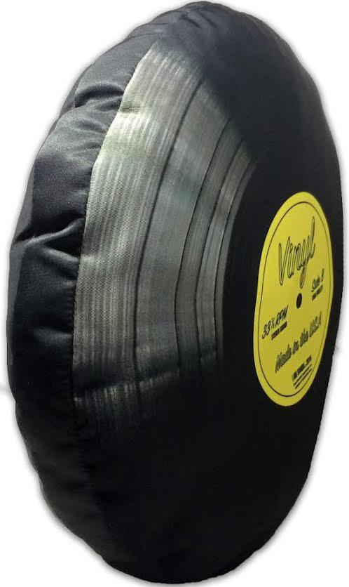 Vinyl Record Pillow