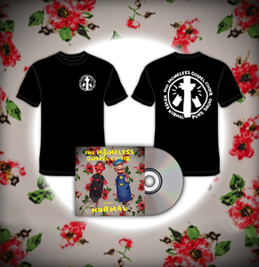 The Homeless Gospel Choir - Presents: Normal CD + t-shirt bundle