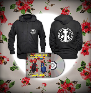 The Homeless Gospel Choir - Presents: Normal CD + Hoodie Bundle