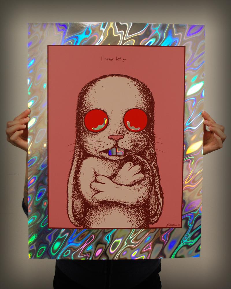 NEW - 'Damaged' Art Print -