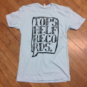Topshelf Records - Logo Shirt (Powder Blue)