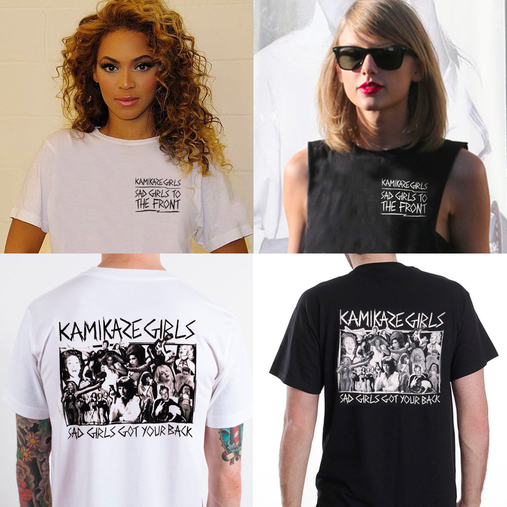 Sad Girls To The Front T-Shirt