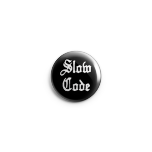 Slow Code - Logo Button