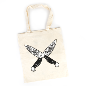 Knives Tote Bag