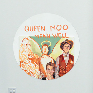 Queen Moo - Mean Well Button