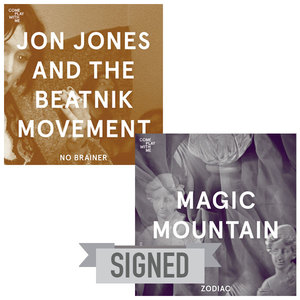 SIGNED CPWM008 MAGIC MOUNTAIN 'Zodiac' / JON JONES AND THE BEATNIK MOVEMENT 'No Brainer'