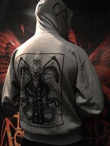 Reaping Asmodeia Ram logo Triple print hoodie