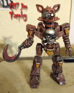 Metal Murder Foxinger Z