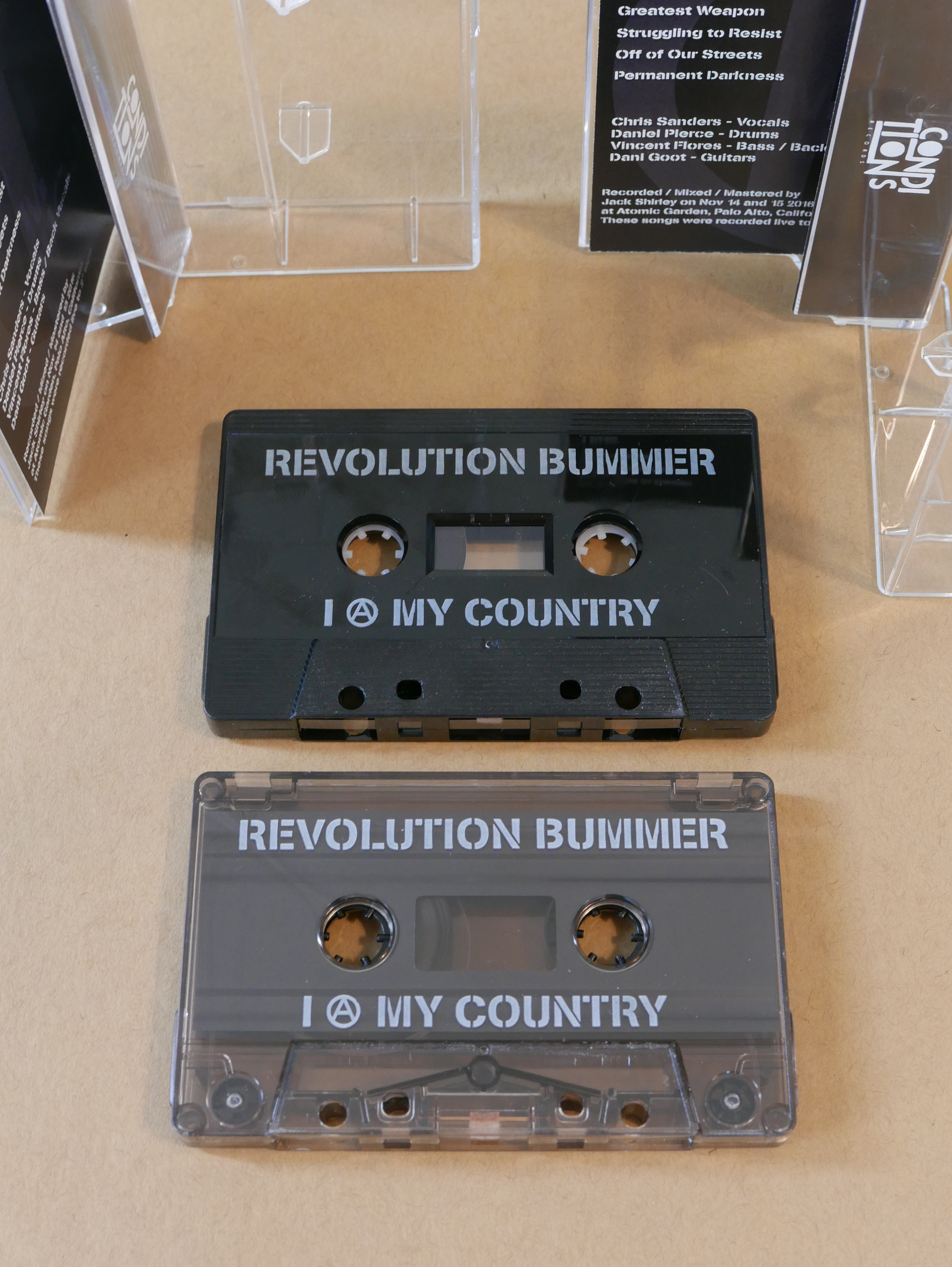 Revolution Bummer - I (A) My Country CS EP