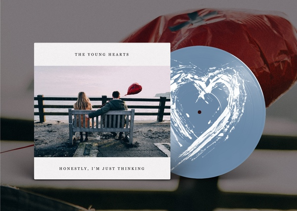 The Young Hearts - Honestly, I'm Just Thinking (Light Blue Vinyl)