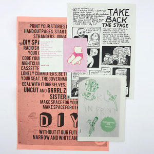 GRRRL In Print - Issue 1 Zine pack