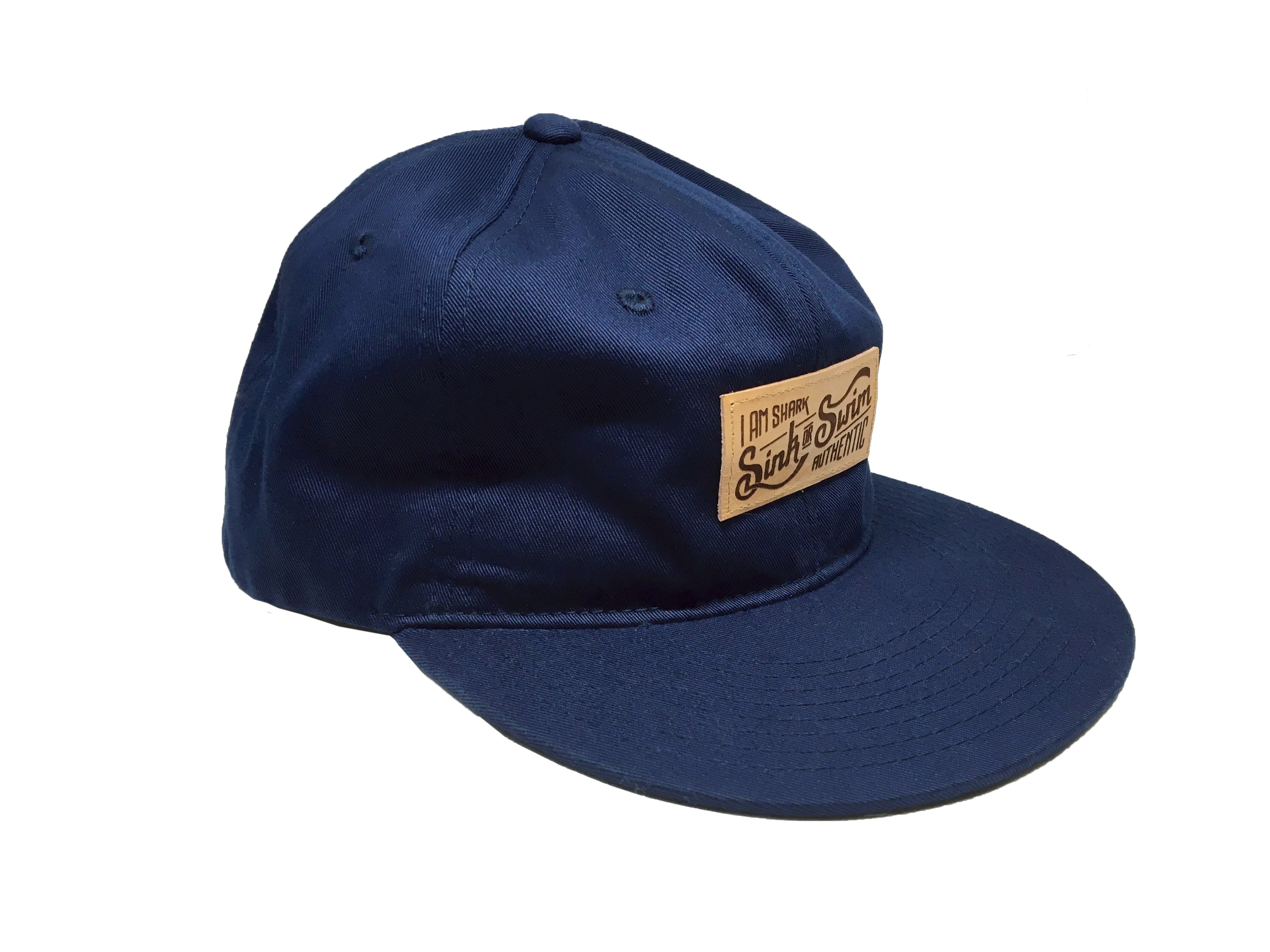 Relaxed Sink or Swim Snapback - Navy