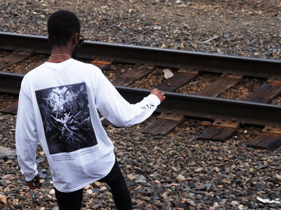 Limited Edition White Long Sleeve Shades Tee.