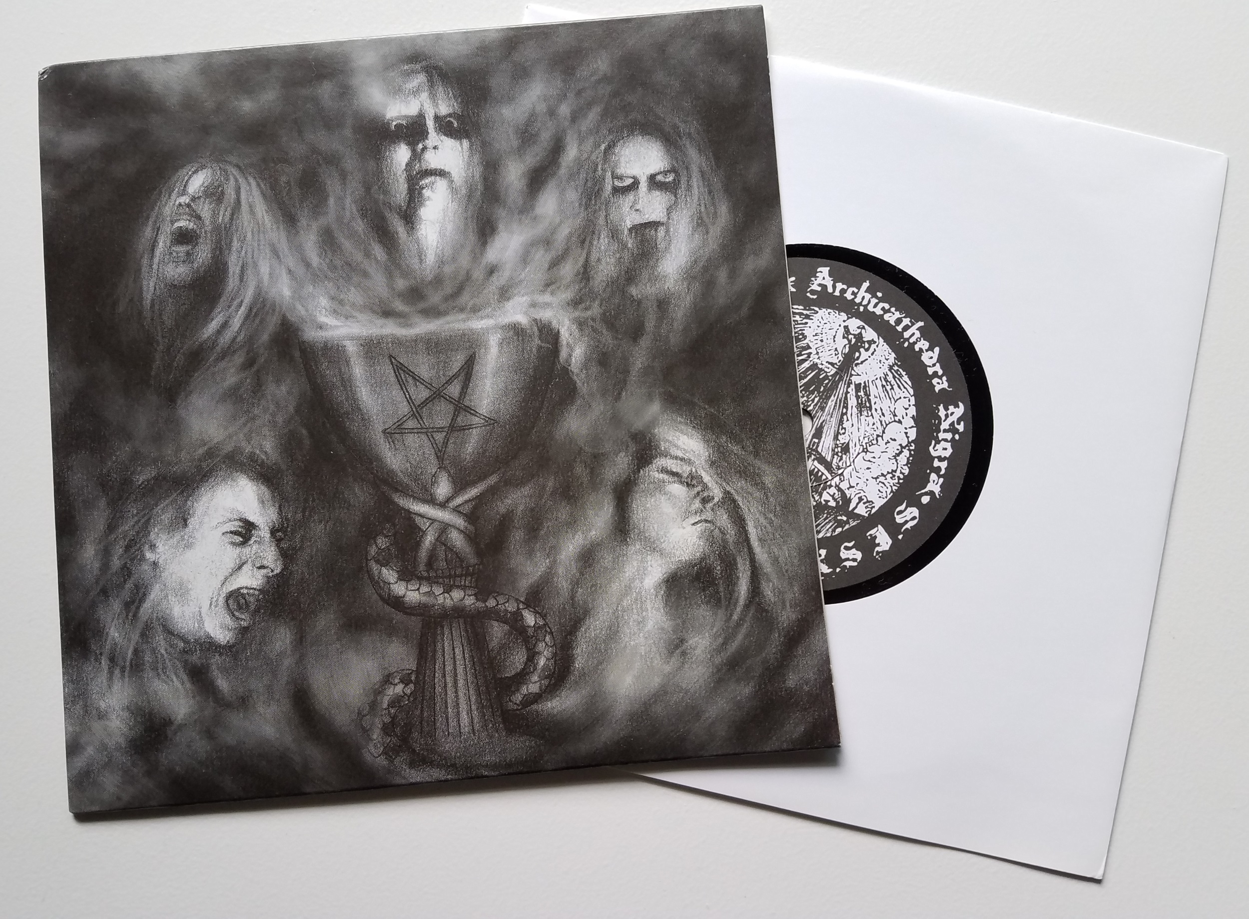 Celestial Bloodshed / Urfaust - Split 7