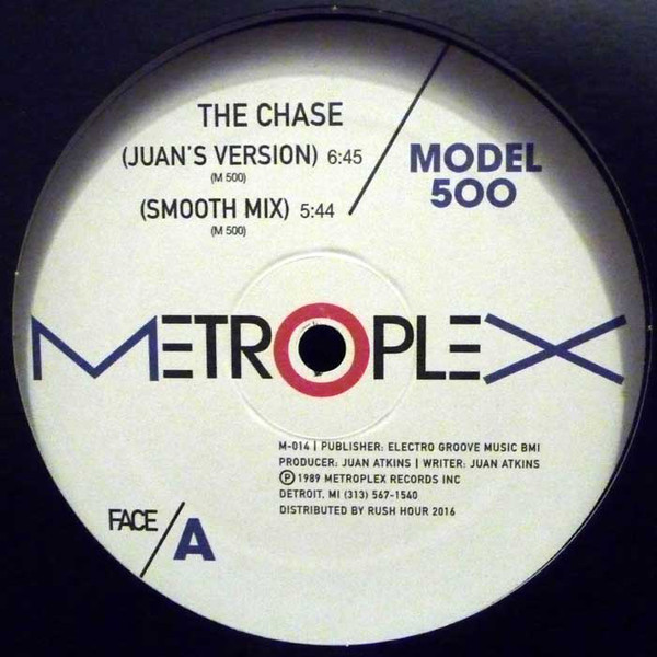 Model 500 ‎– The Chase (Metroplex)