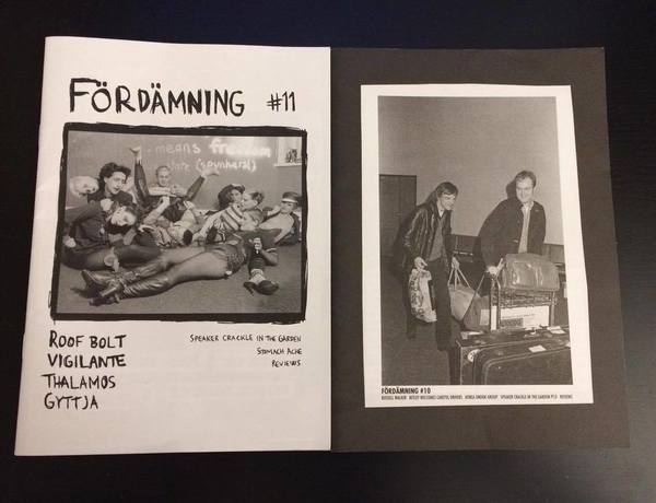 Special Interest and Fordamning Zines