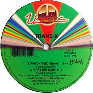 Trans-X – Living On Video (Unidisc)