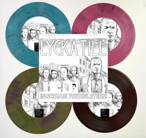 Lycka Till / Norman Finkelstein - split 7-inch
