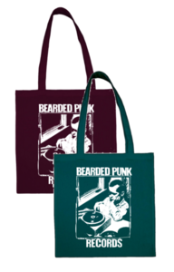 Bearded Punk Records Totebag