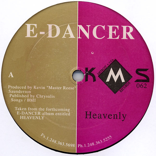 E-Dancer ‎– Heavenly (KMS )