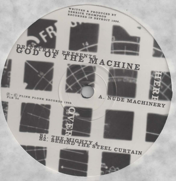 God Of The Machine ‎– Nude Machinery (Plink Plonk)