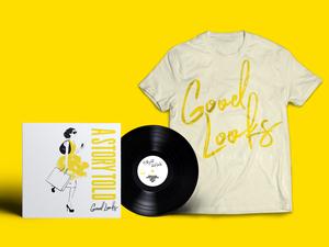 Good Looks Tee/Vinyl Bundle