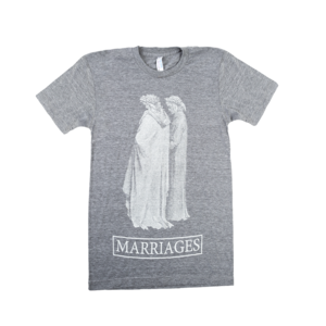 Marriages - Statue Grey T-Shirt