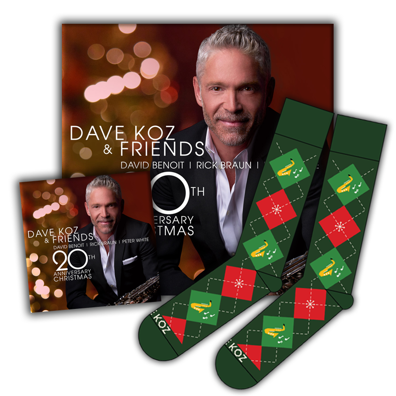 Socks + Magnet + Digital Download - 20th Anniversary Christmas Album