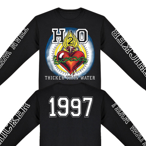 H2O 'Thicker Than Water' 4 Sided Longsleeve
