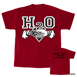 H2O 'Here Today Gone Tomorrow' T-Shirt