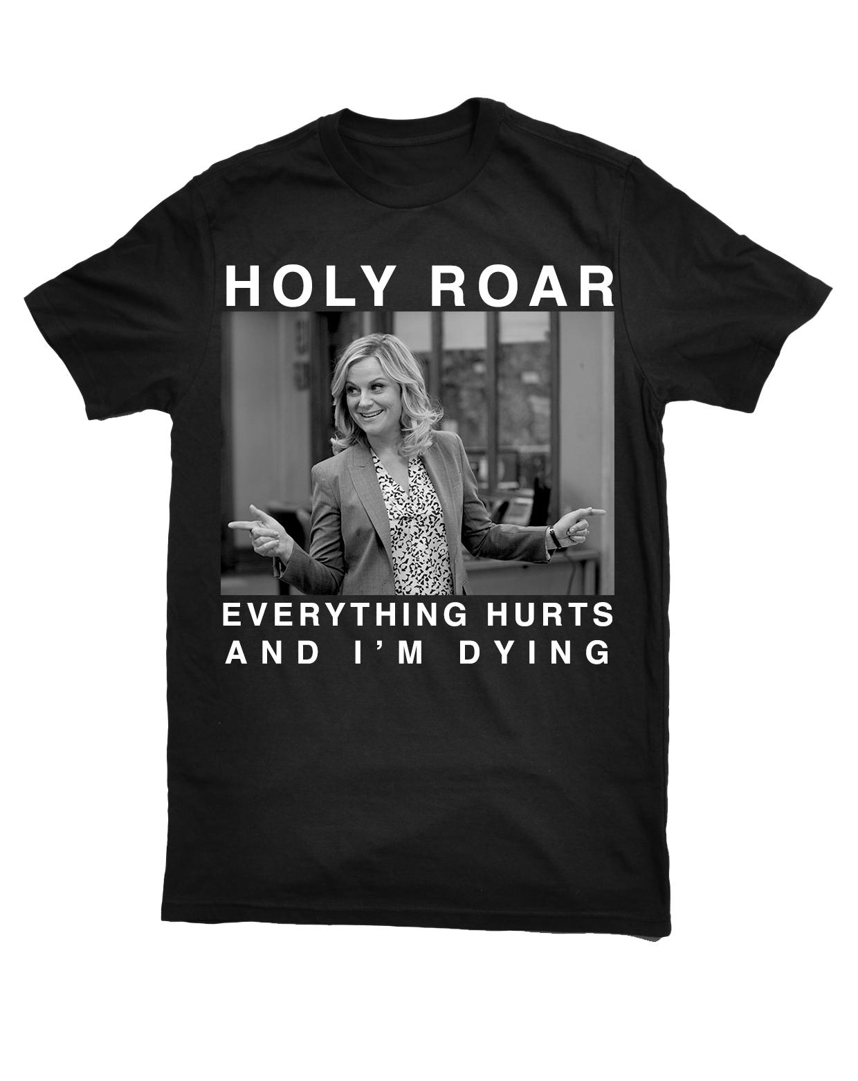 Holy Roar x Leslie Knope