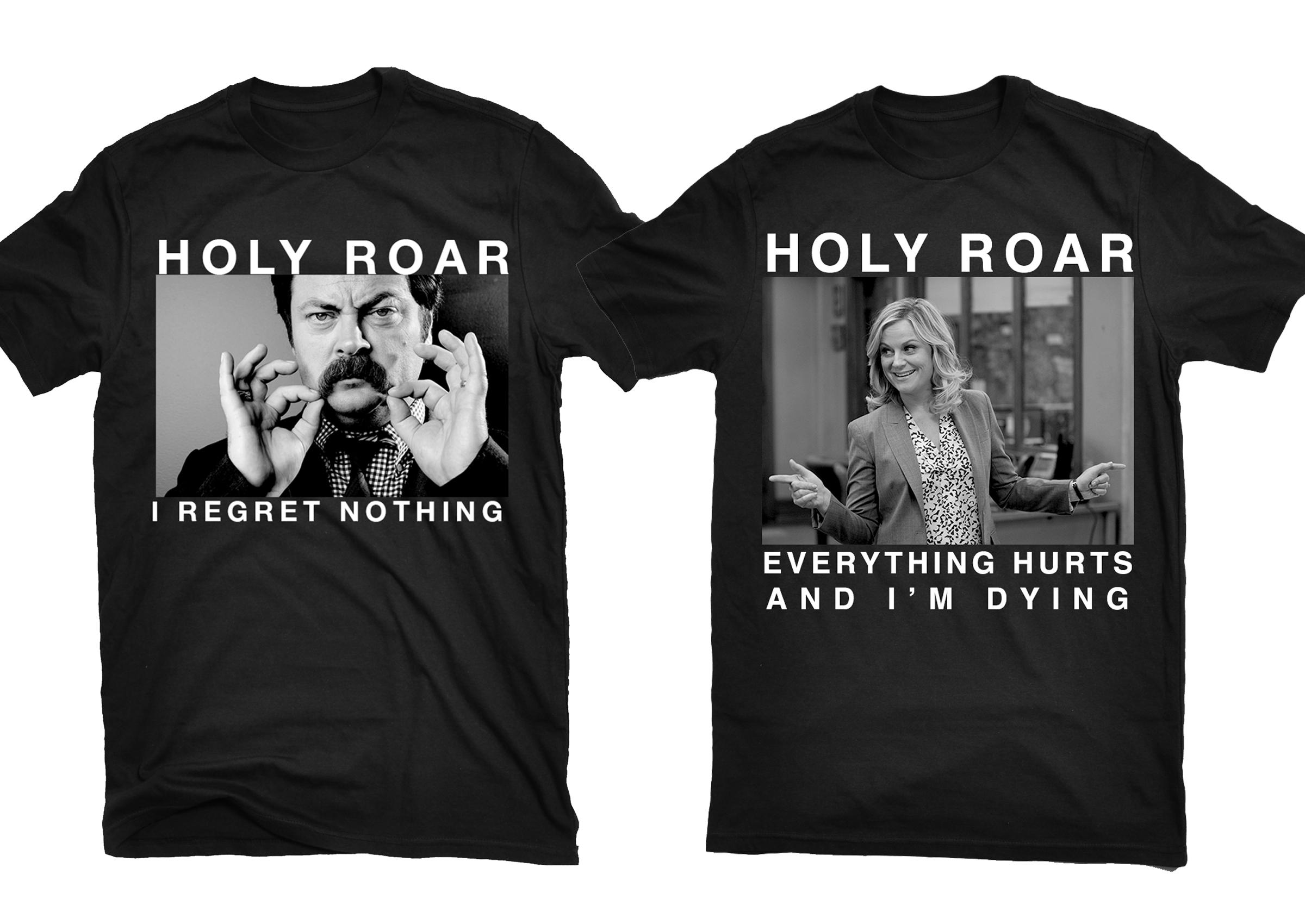 Holy Roar x Parks and Rec bundle