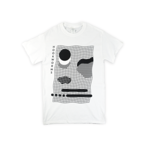 White Grid T-Shirt